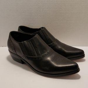 Dingo black cowboy booties